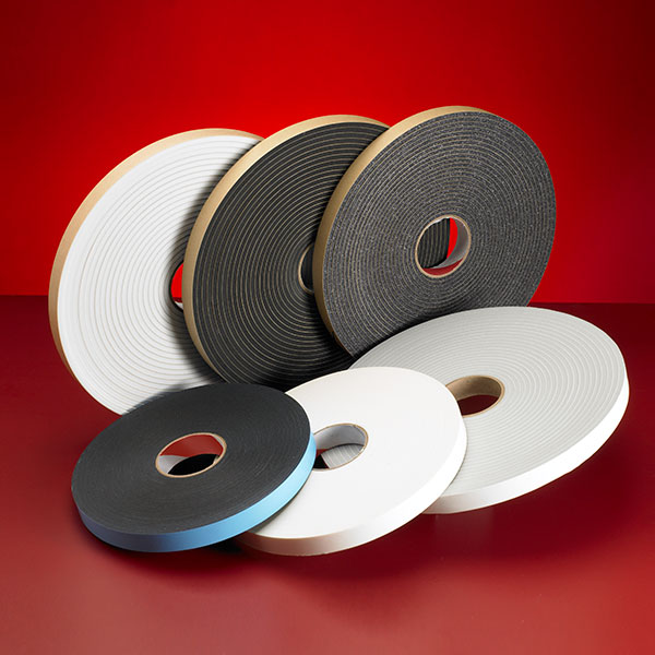 Adhesive Foam Tapes And Gaskets Pres On